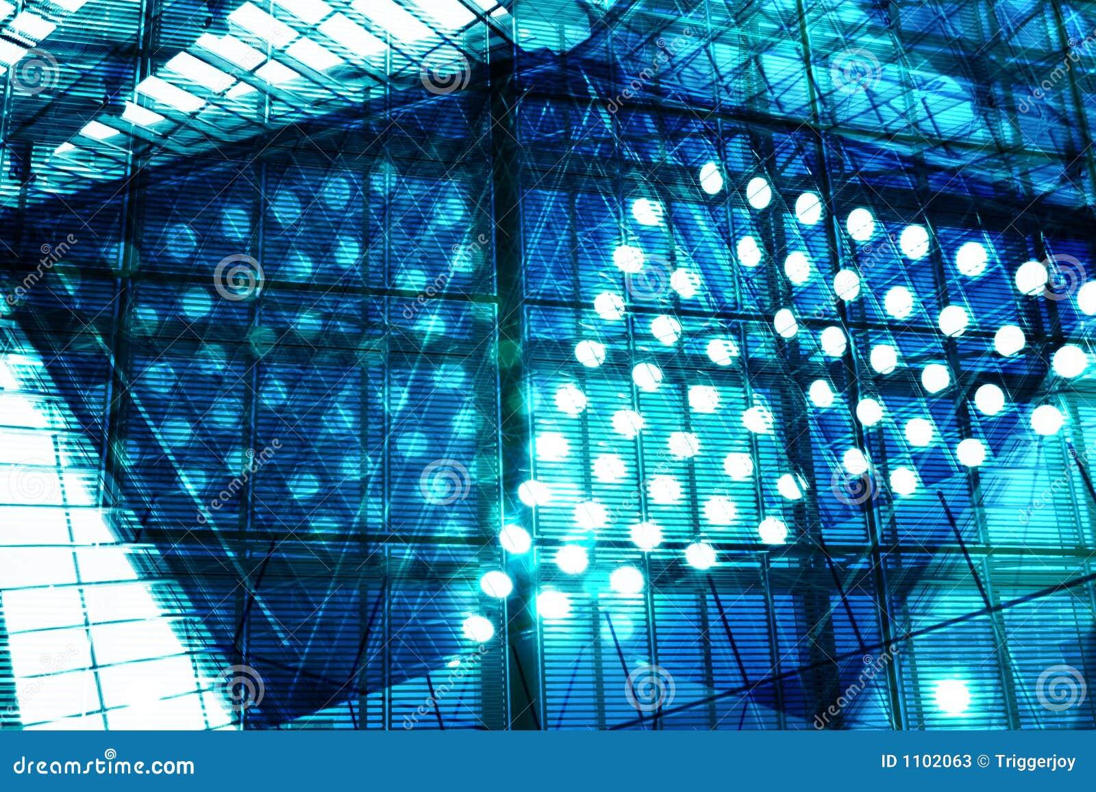hi tech background stock image image of blue complex 1102063. Black Bedroom Furniture Sets. Home Design Ideas