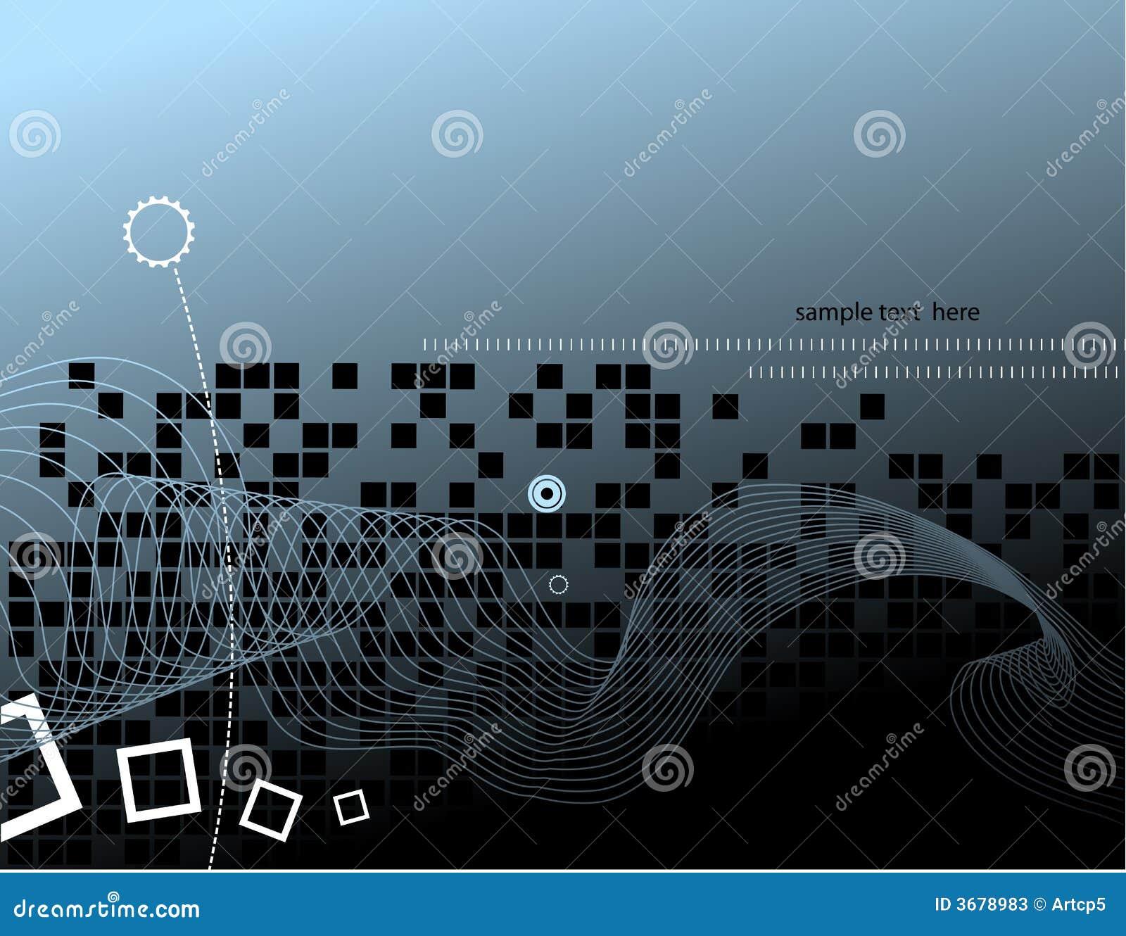 Hi tech background design