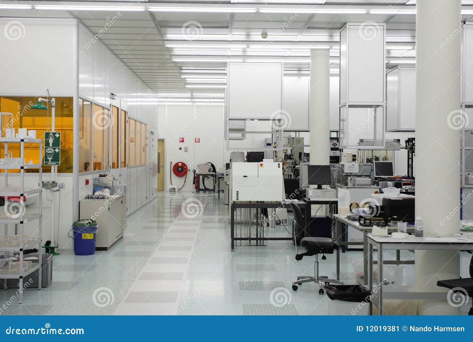 Hi-tech clean room