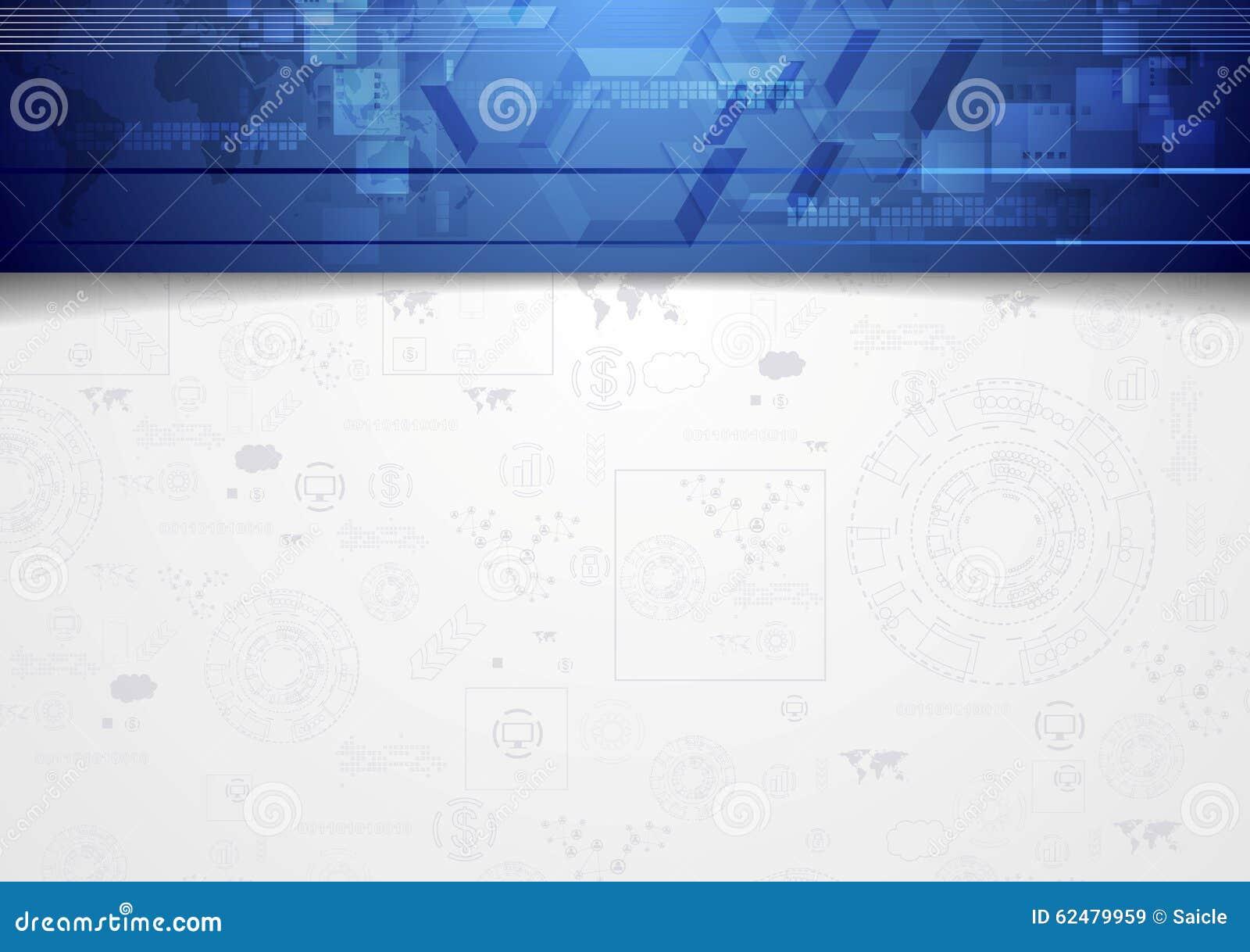 Background image header - Background Blue Corporate Design Header