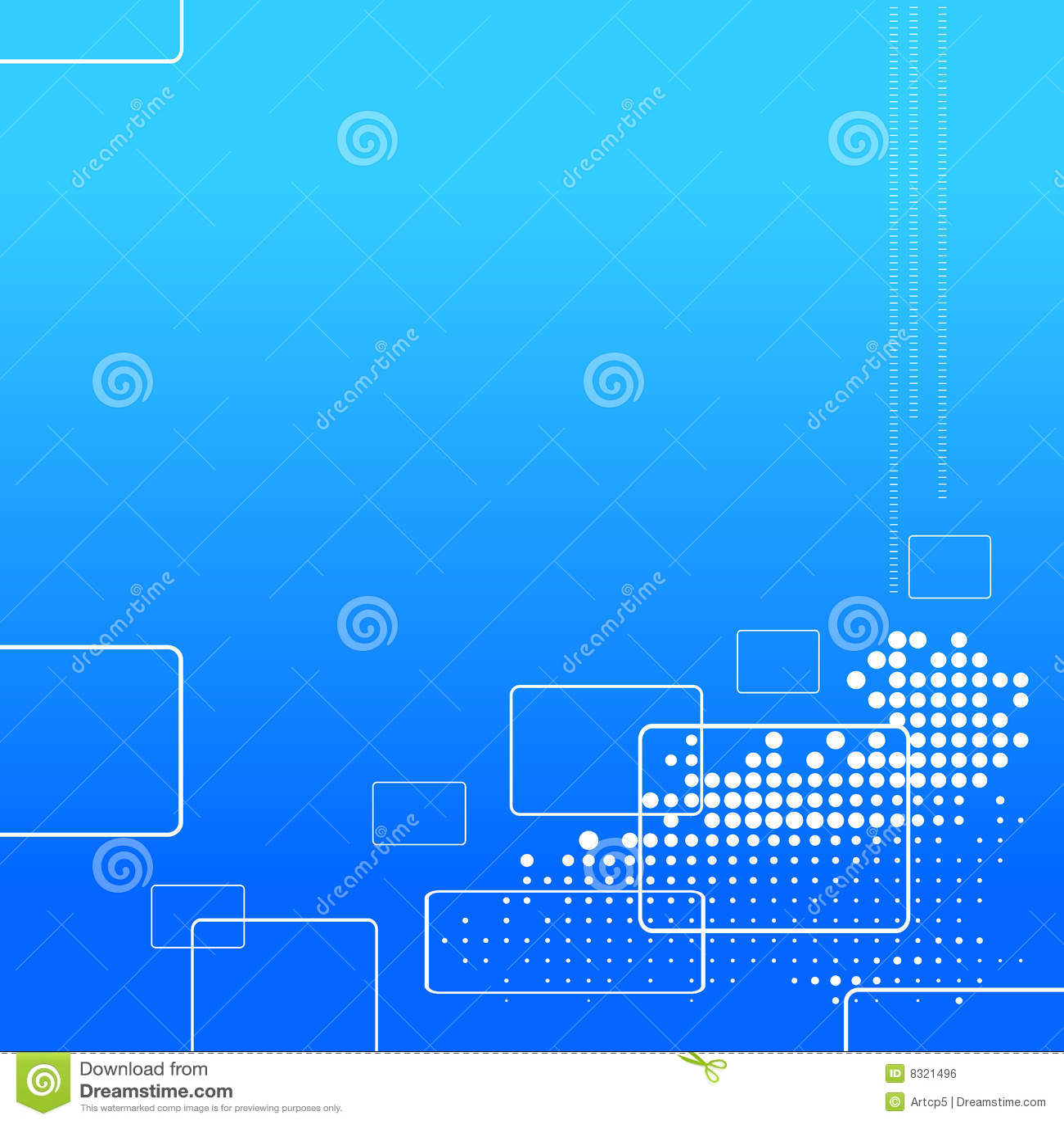 Hi Tech Wallpaper Royalty Free Stock Image