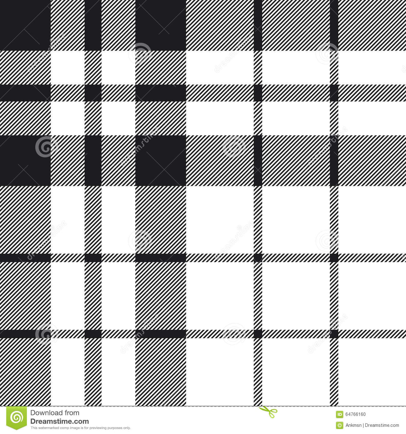 Seamless black and white checkered texture stock images image - Hibernian Fc Tartan Check Plaid Black And White Pattern Seamless Stock Photo