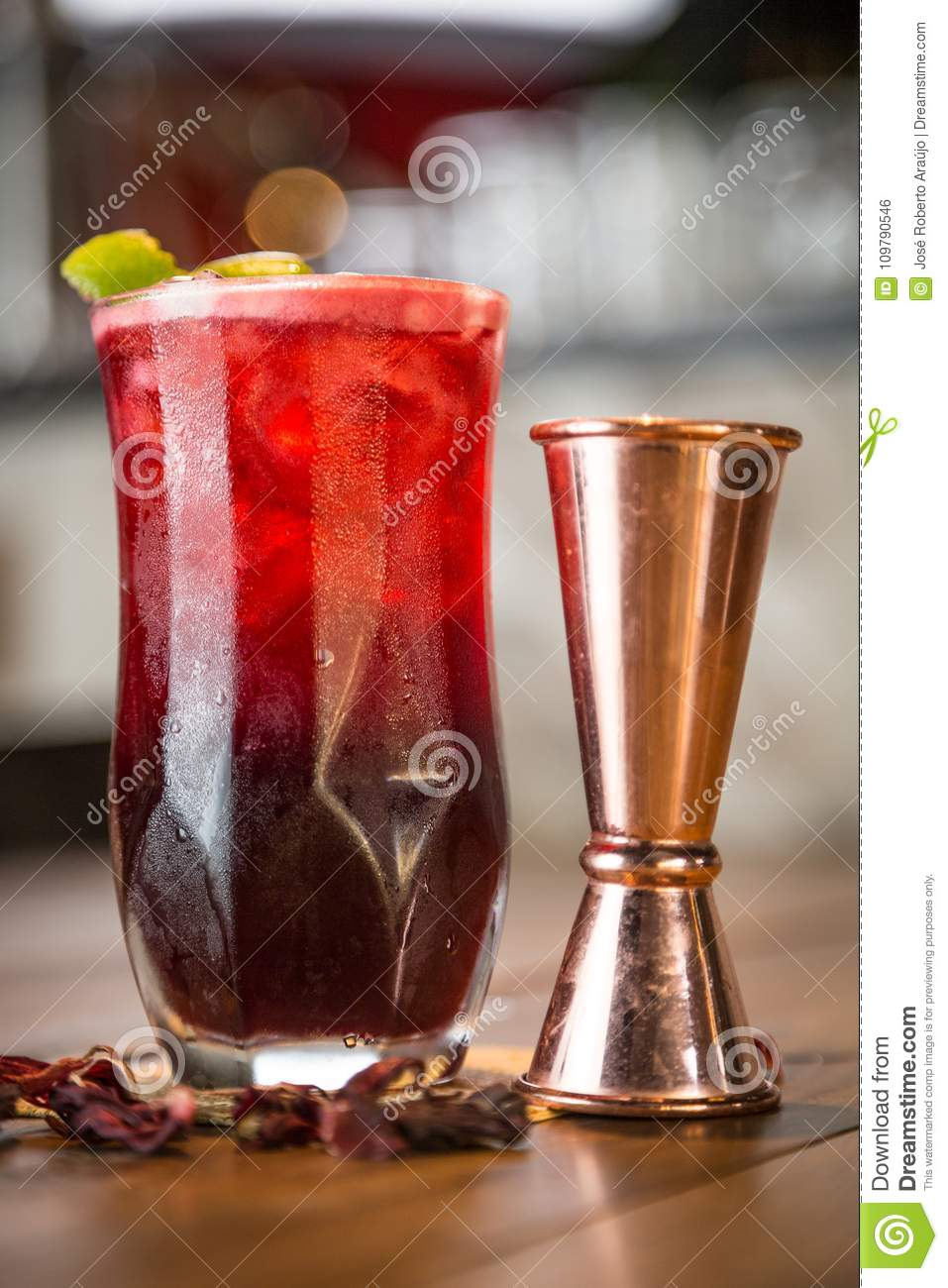 Hibiscus Drink Zk Stock Photo Image Of Sepals Fruit 109790546