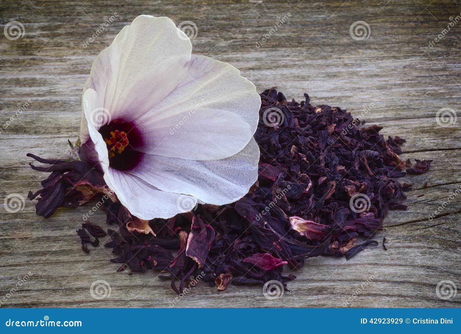 Hibiscus tea hibiscus sabdariffa flower and sepals dried for i royalty free stock photo izmirmasajfo
