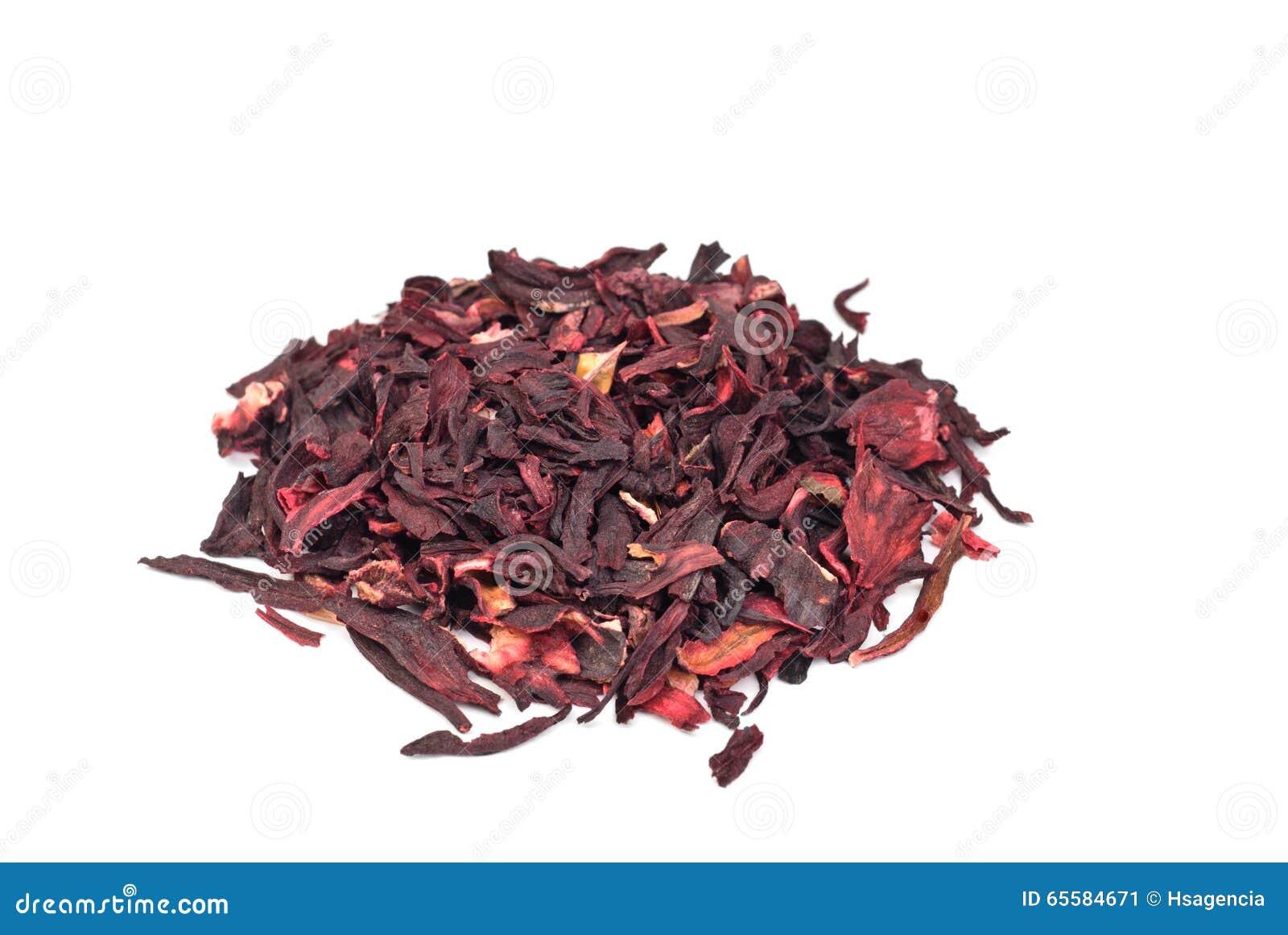 Hibiscus Tea Macro Dry Flower Stock Image Image Of Closeup Leaf