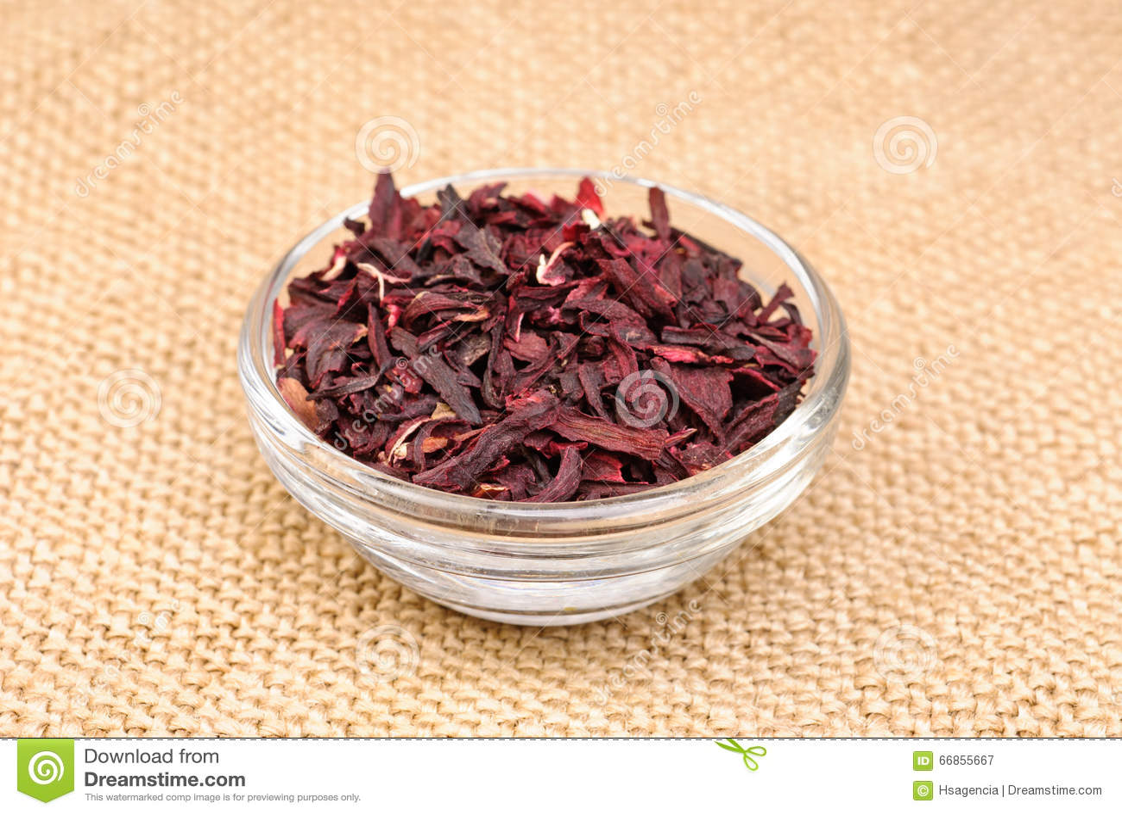 Hibiscus Tea Macro Dry Flower Stock Image Image Of Fresh Aromatic