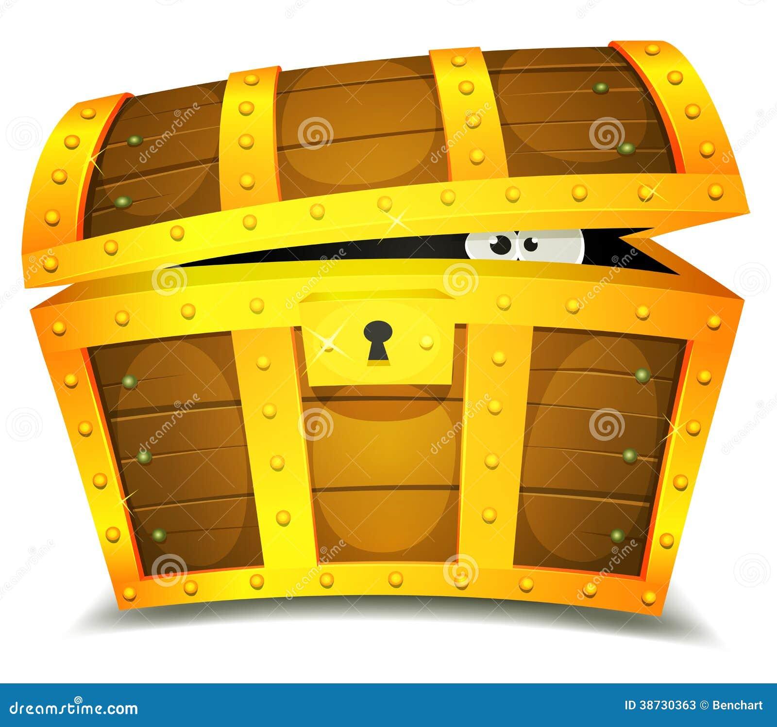pirate opening treasure chest stock image image 11853741