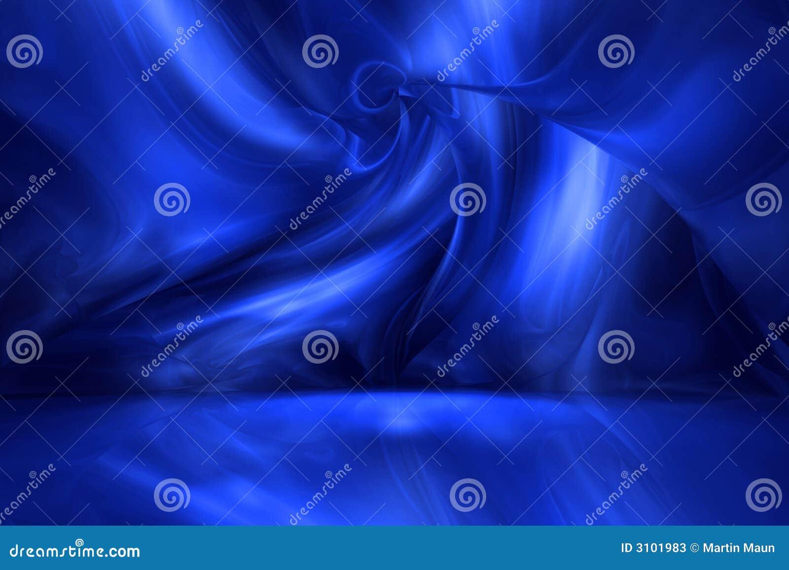 Hielo azul Pasillo