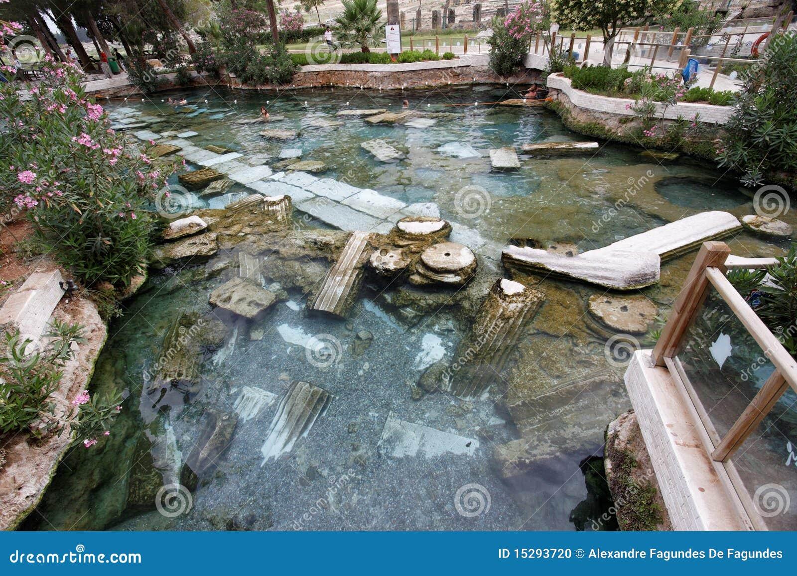 Hierapolis温泉火鸡