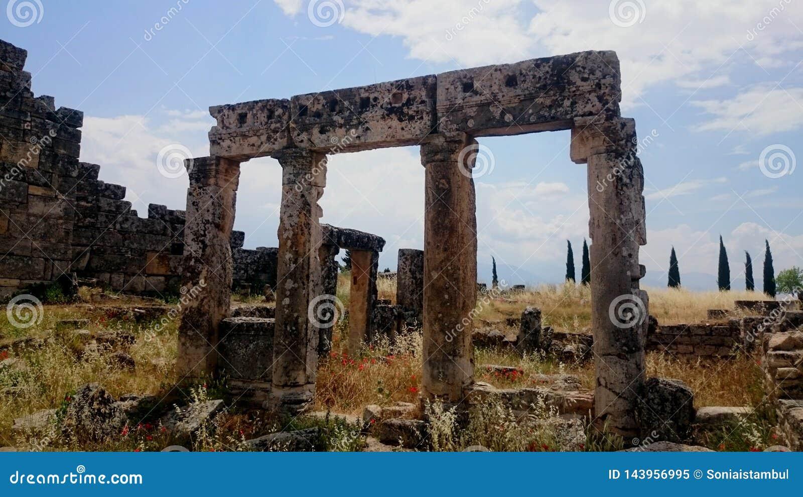 Hierapolis, Pamukkale, Turkije