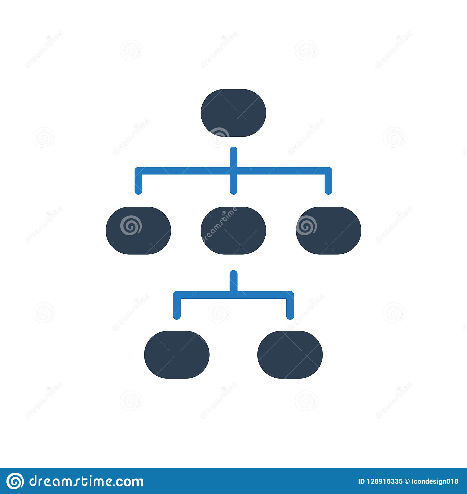 Hierarchy Structure Icon