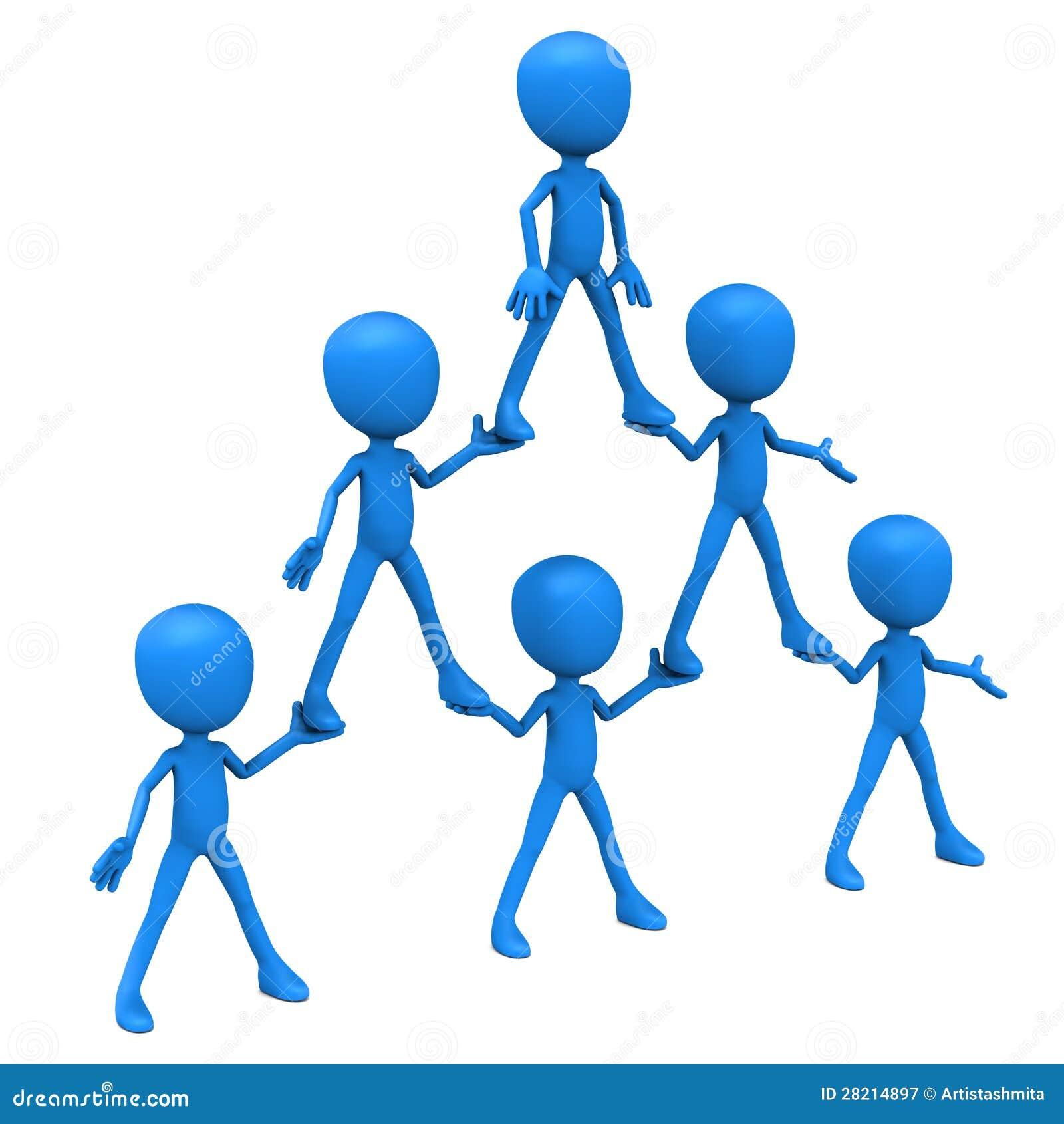 Hierarquia da pirâmide humana