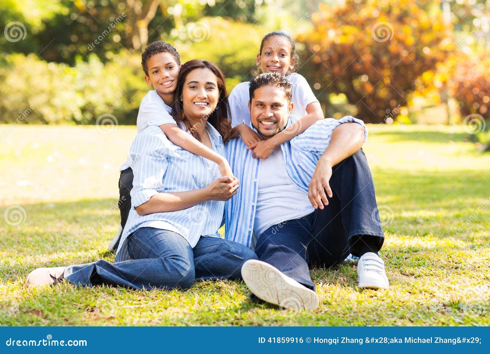 Hierba india de la familia