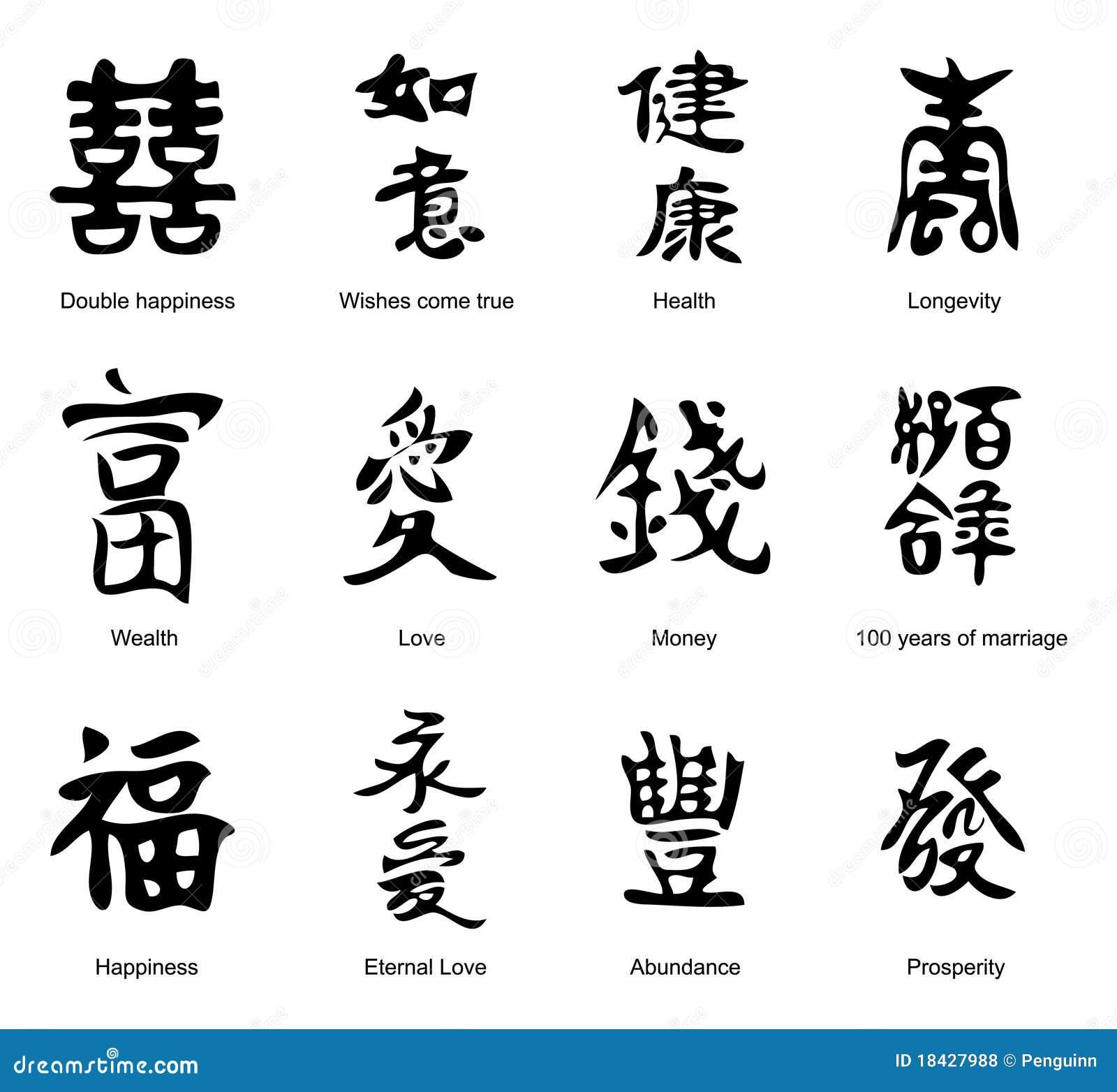 Тату иероглифы в картинках и их перевод на русском