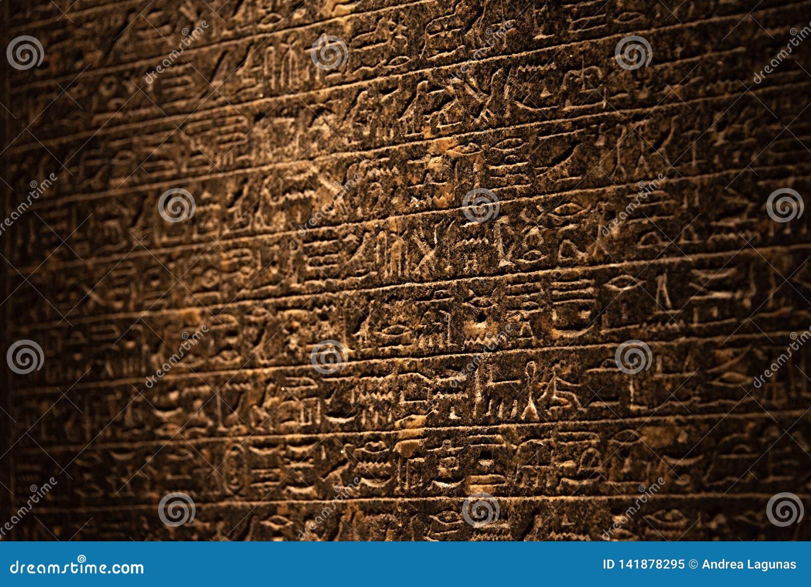 Hieroglyphics antyczny Egipt