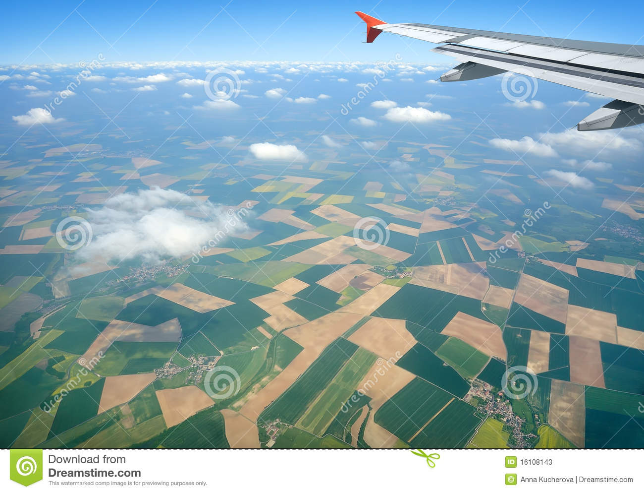 Download High above the ground stock image. Image of france, journey - 16108143