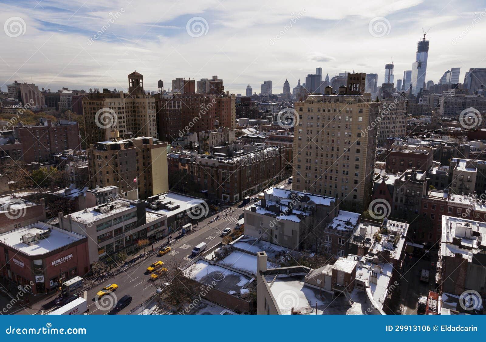 Greenwich Street in New-York City