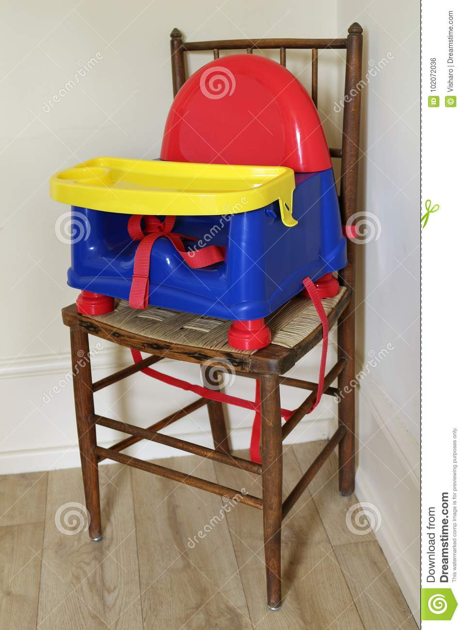 High Chair stock photo. Image of household, children - 102072036