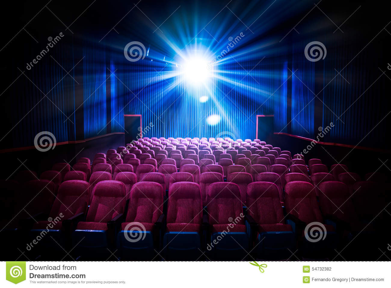 high contrast image of empty movie theater seats stock photo image 54732382. Black Bedroom Furniture Sets. Home Design Ideas