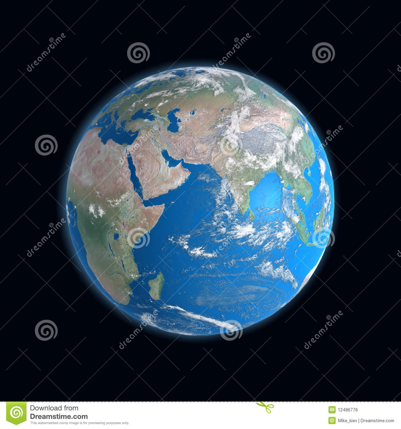 Detailed Map Of Earth on