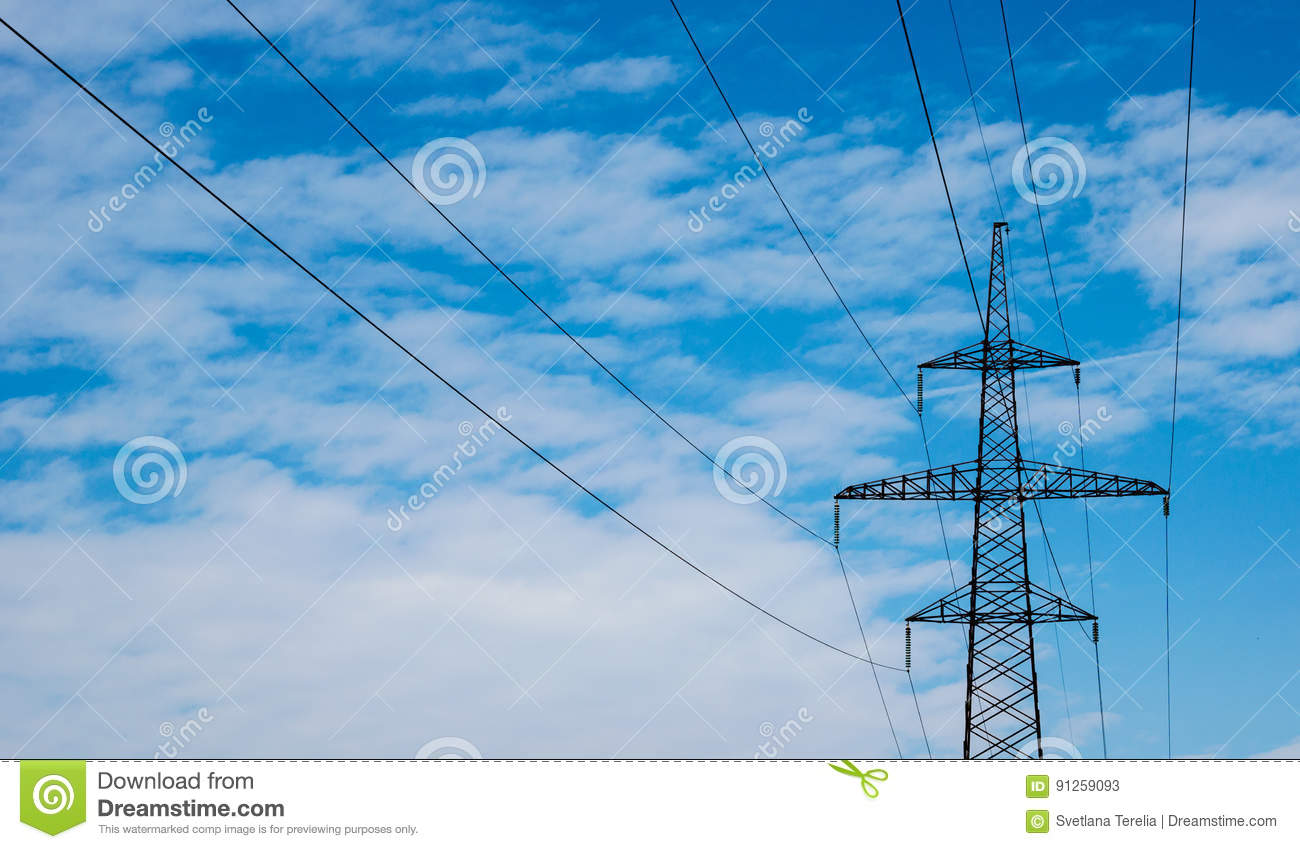 High-Electric Constructions, Elektrik, On The Background Of The ...