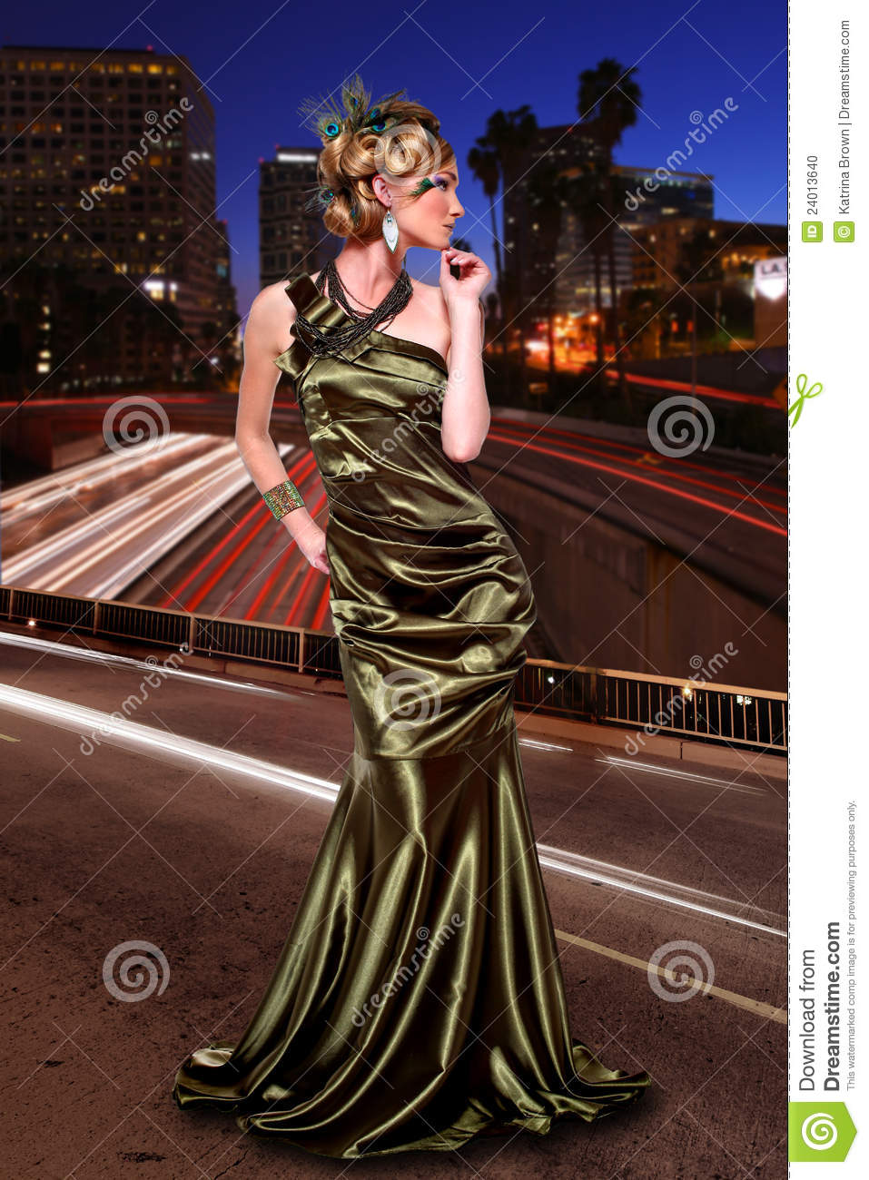 High Fashion Editorial Concept Stock Photo Image 24013640