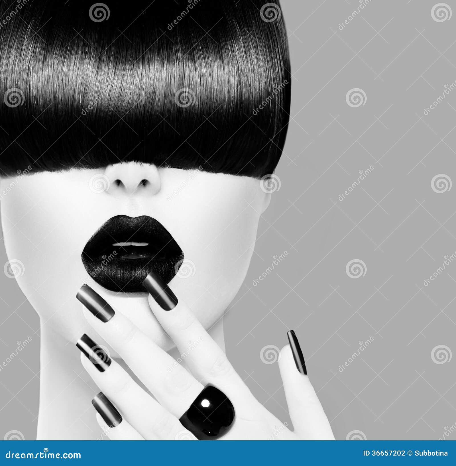 high fashion model girl portrait stock photography image. Black Bedroom Furniture Sets. Home Design Ideas