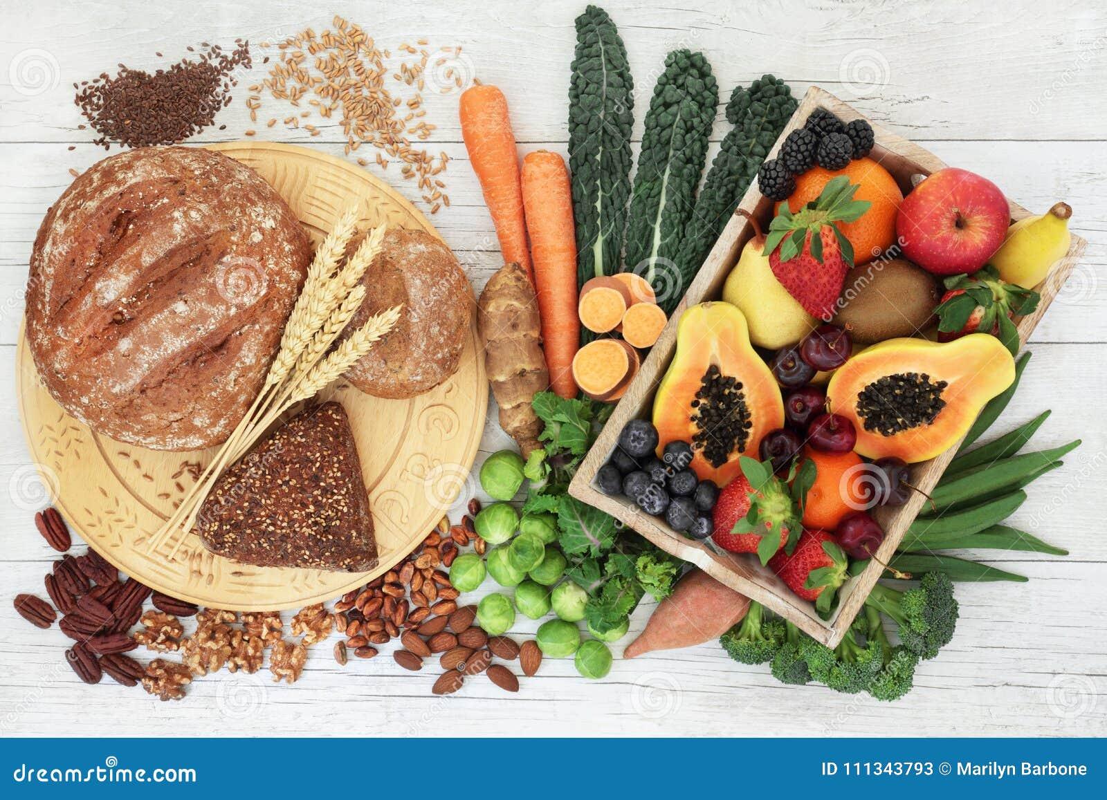 High Fibre Food for a Healthy Life