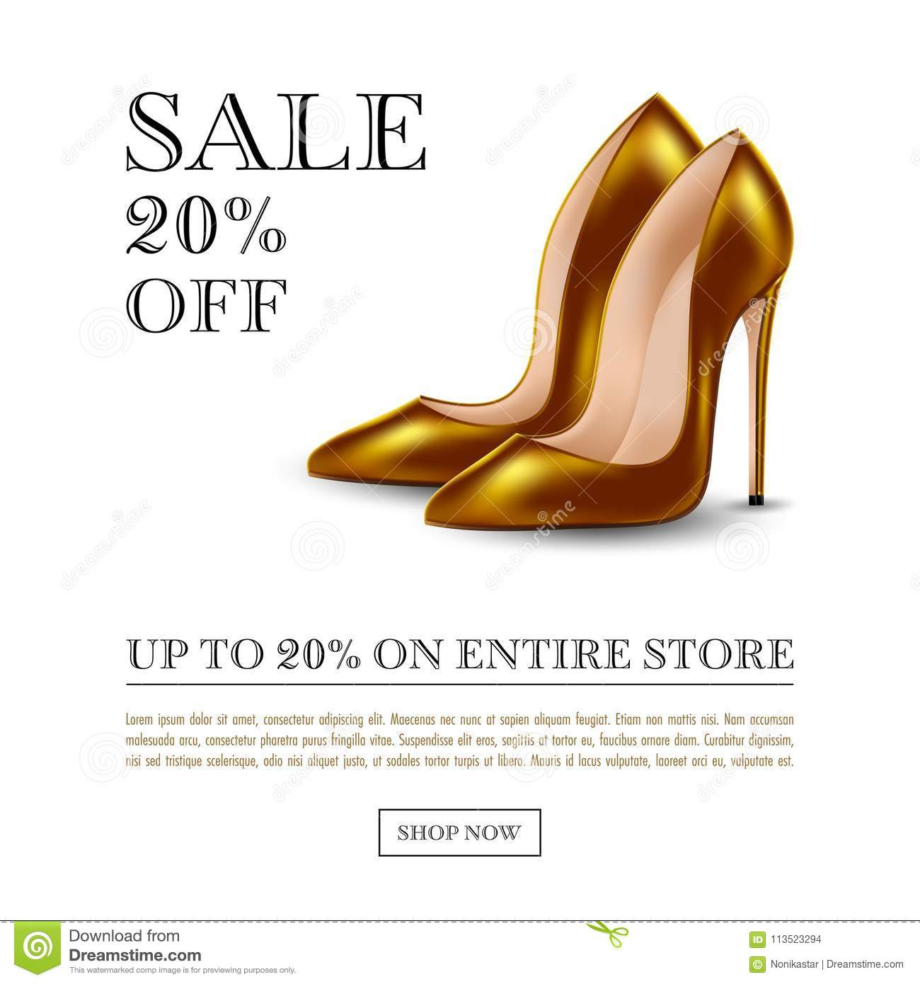 high heel shoes stock vector illustration of business 113523294