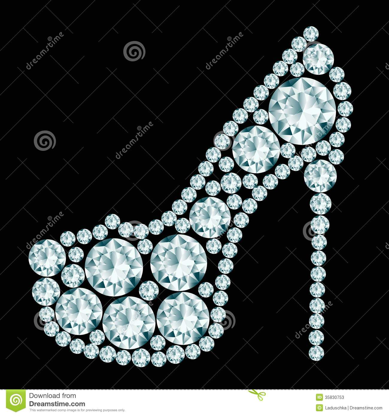 High Heels Shoe Stock Vector Image Of First Valuable