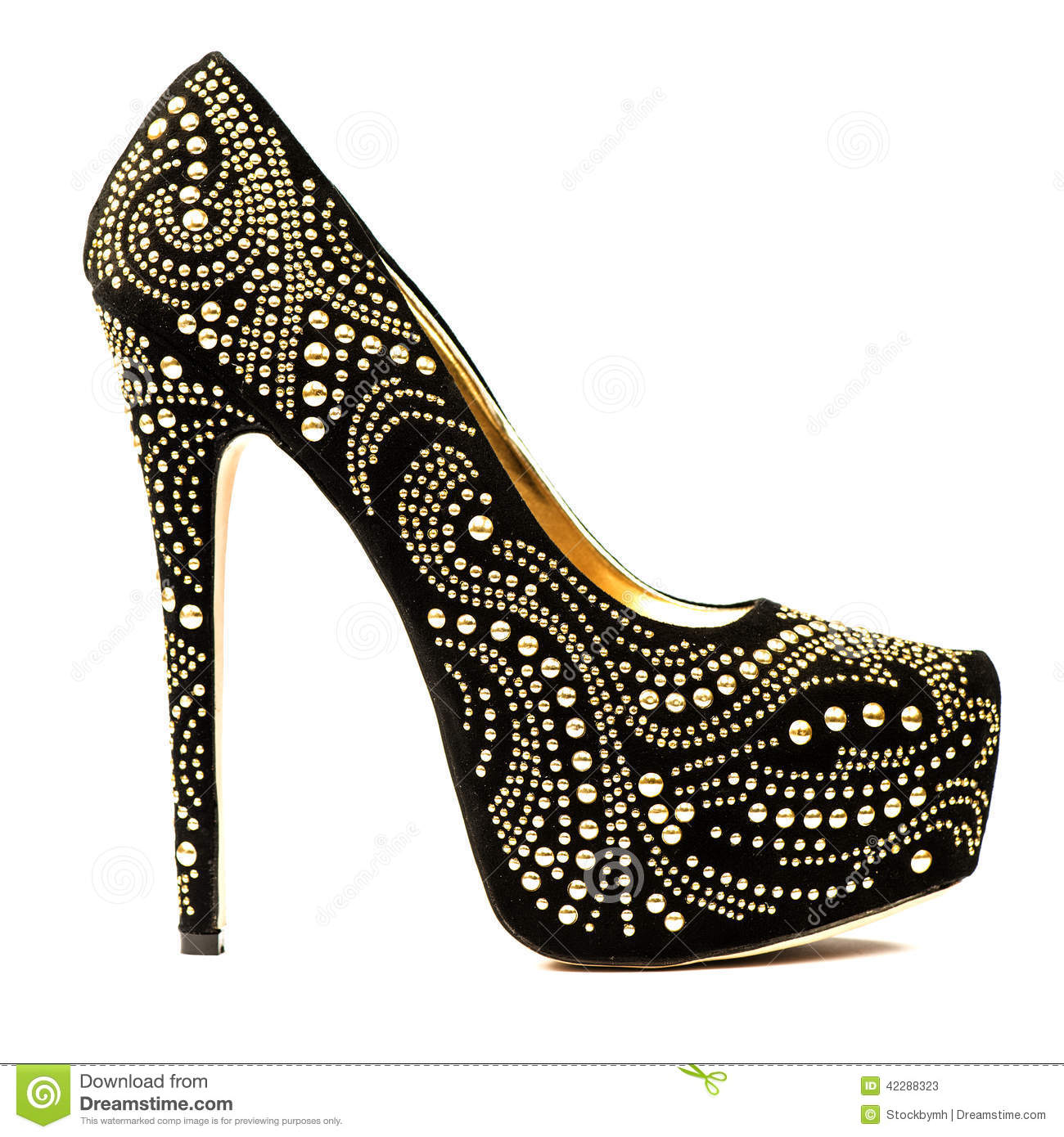 Zapatos Shoes Black Gold