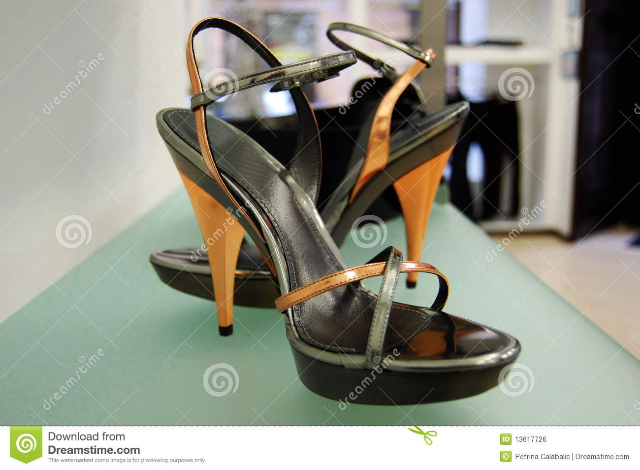 Royalty Free Stock Image: High heels women shoes