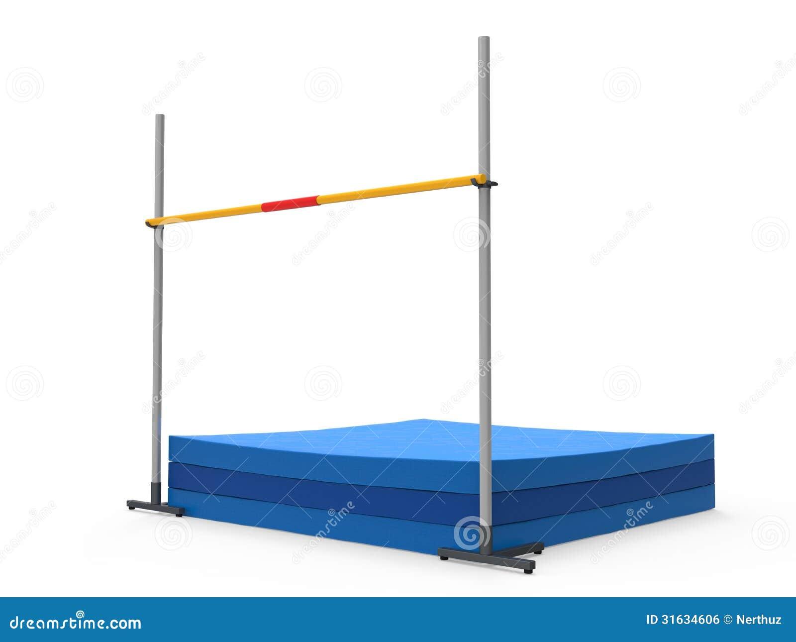 High Jump Landing Mat Royalty Free Stock Image Image