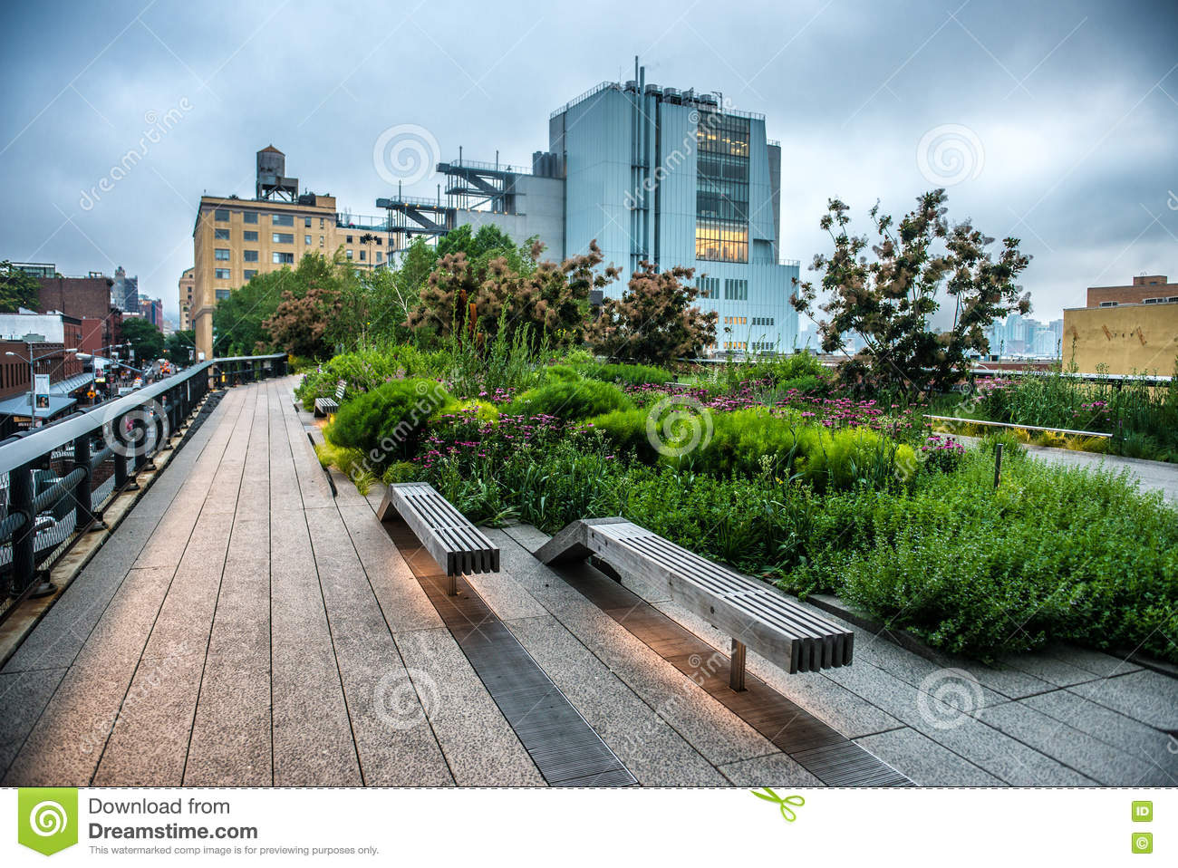 high line park urban public park on an historic freight rail line in new york city manhattan. Black Bedroom Furniture Sets. Home Design Ideas