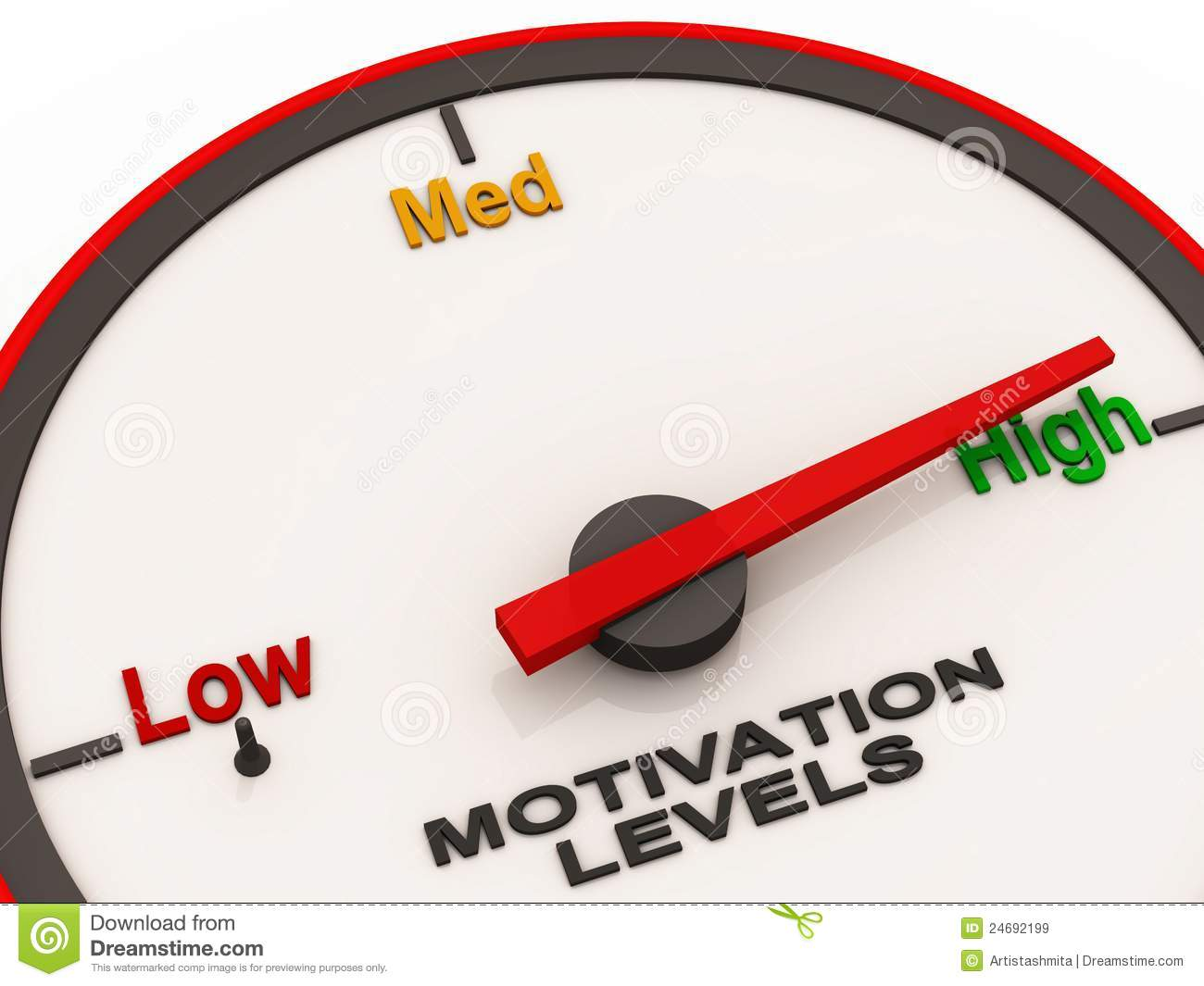 The concept of low level of motivation in writing