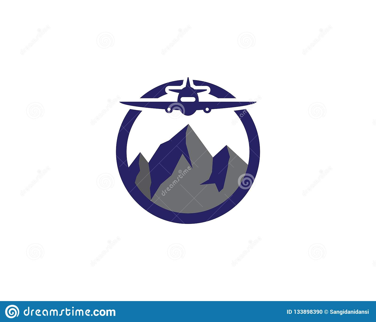 River Logo Nature Mountain Symbol Design Cartoon Vector Cartoondealer Com 60935027