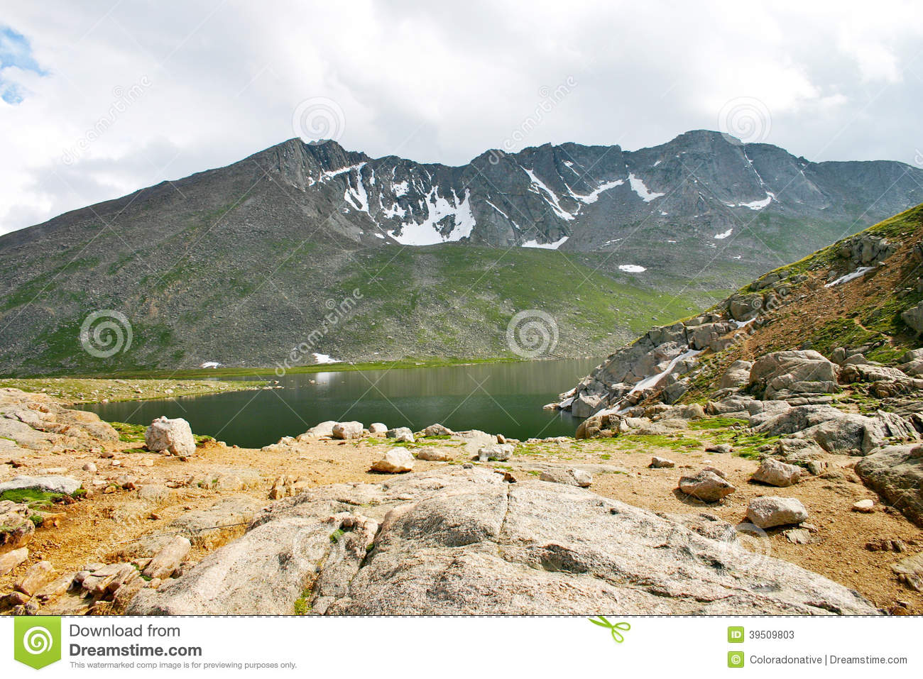 Alpine Lake in Colorado