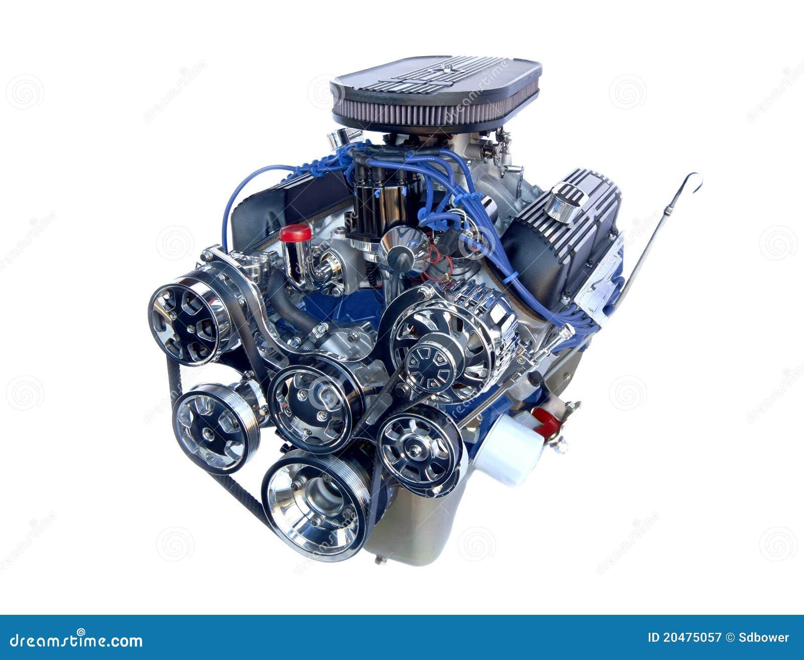 A high performance chrome V8 engine
