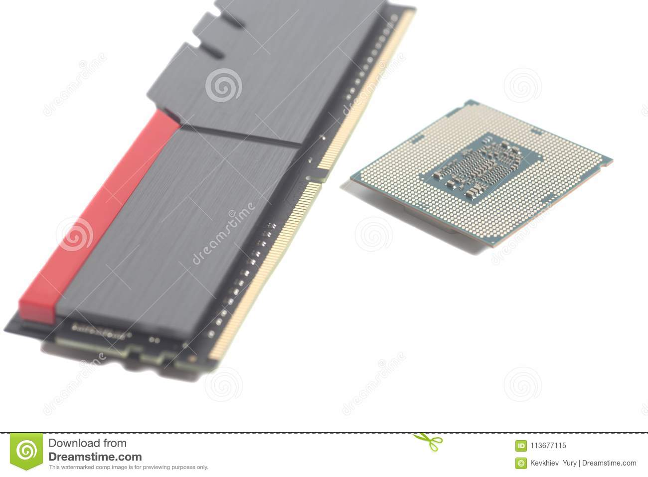 High Performance DDR4 Computer Memory RAM And Central Processing