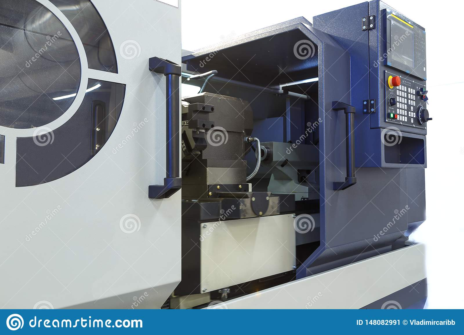 High Precision CNC Metalworking Machine With Numerical