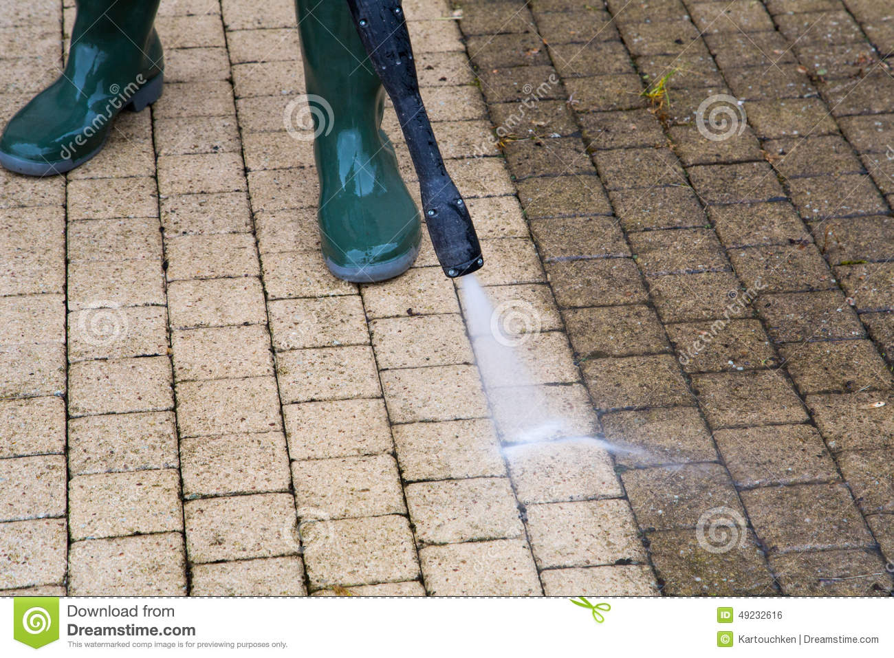High Pressure Cleaning Stock Photo Image 49232616