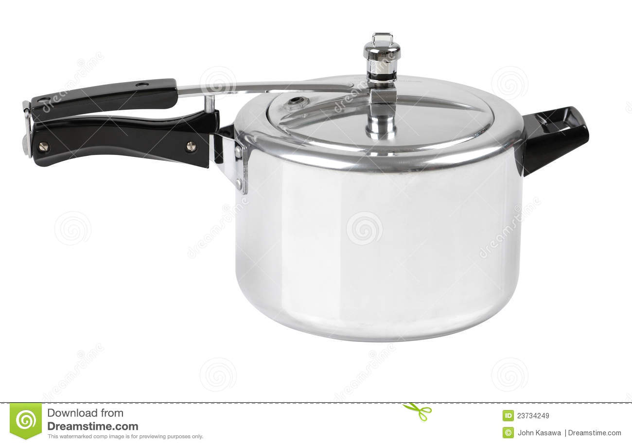 High Pressure Cooking Pot Royalty Free Stock Images