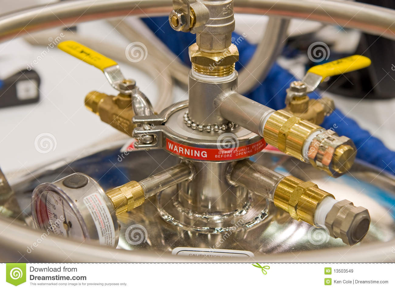 High Pressure Valve Royalty Free Stock Images Image 13503549