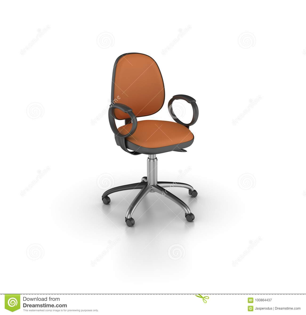Outstanding Office Chair Stock Illustration Illustration Of Manager Caraccident5 Cool Chair Designs And Ideas Caraccident5Info