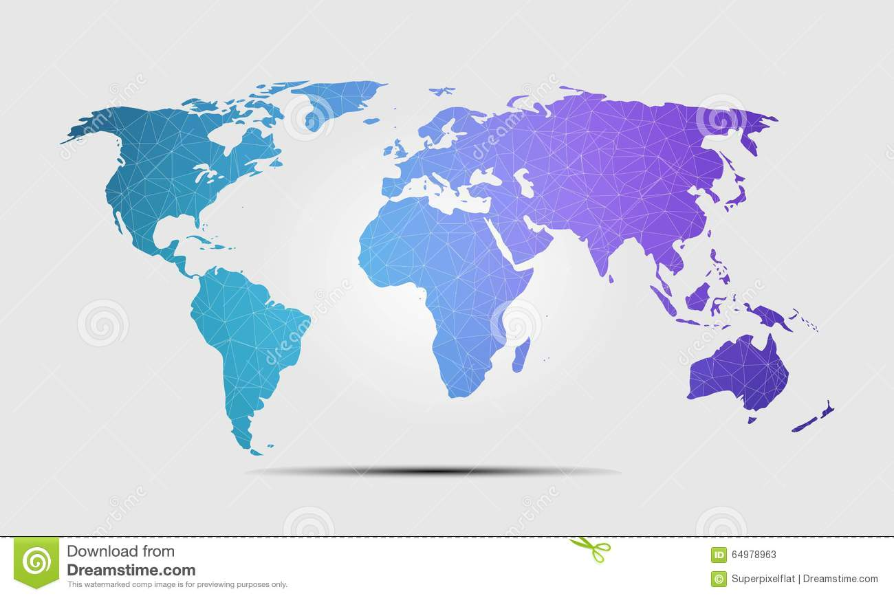 High quality world map polygon background vector illustration stock royalty free vector download high quality world map polygon background vector illustration stock gumiabroncs Gallery