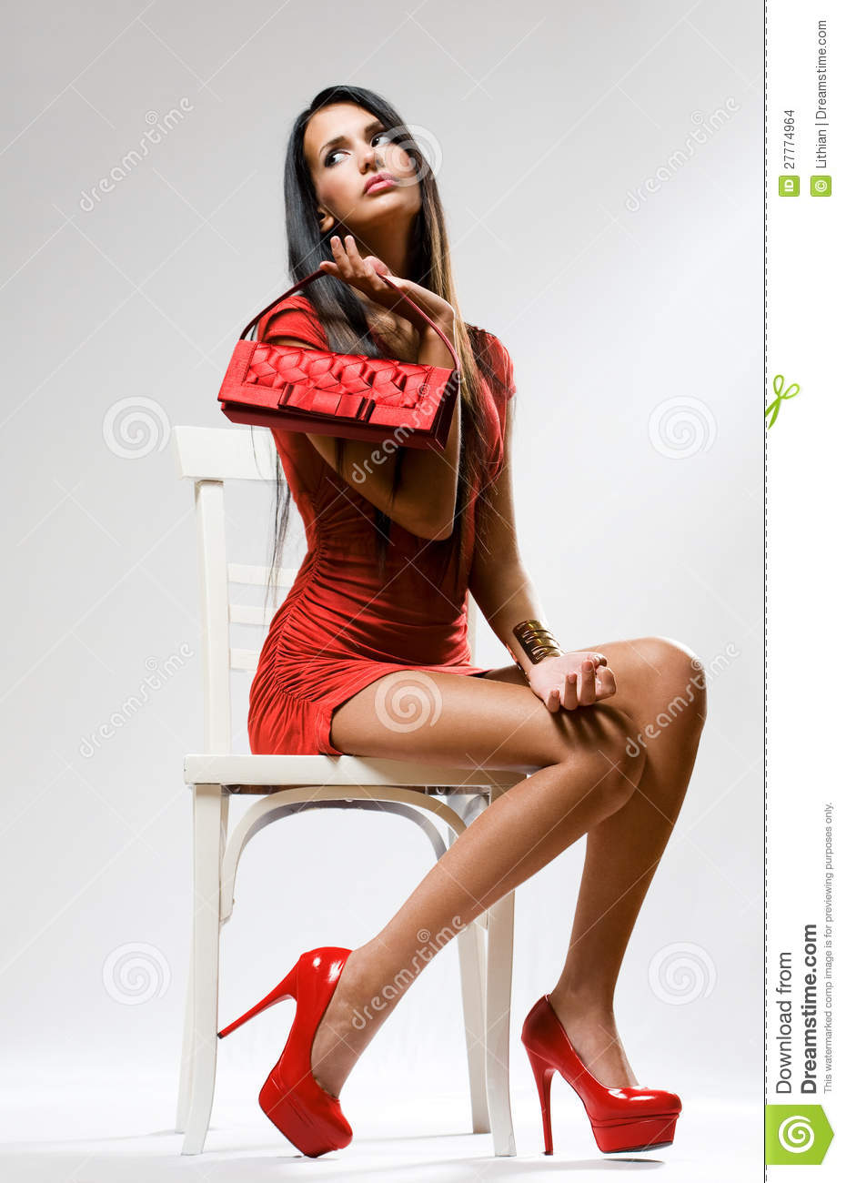 high red fashion stock images image 27774964