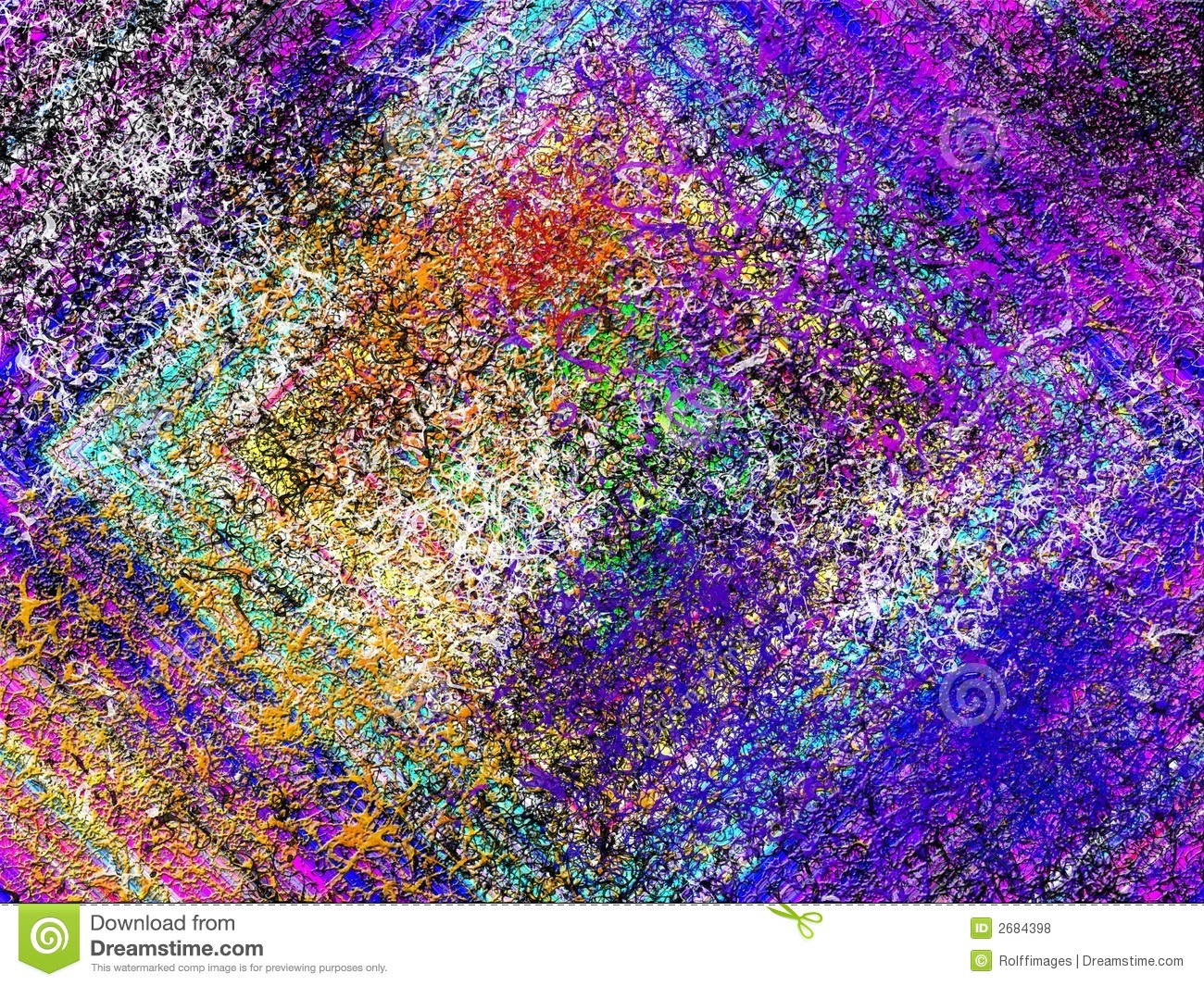 High-res Abstract painting stock illustration. Image of digital ...