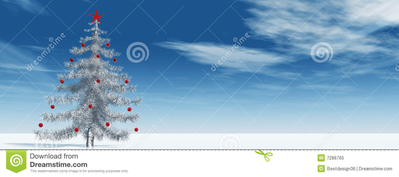 Christmas Tree Pictures High Resolution : High resolution d christmas tree royalty free stock photo