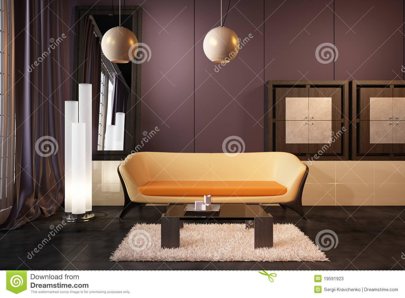 High Resolution 3d Render Interior Stock Photos Image