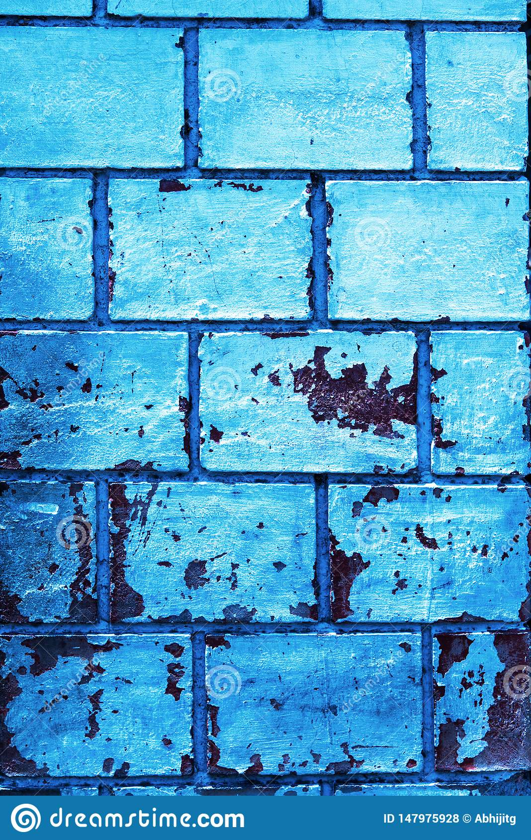 High Resolution Blue Wall Texture For Background 3d Environment Wallpaper Old Wall With Peeling Paint Stock Photo Image Of Block Backgrounds 147975928